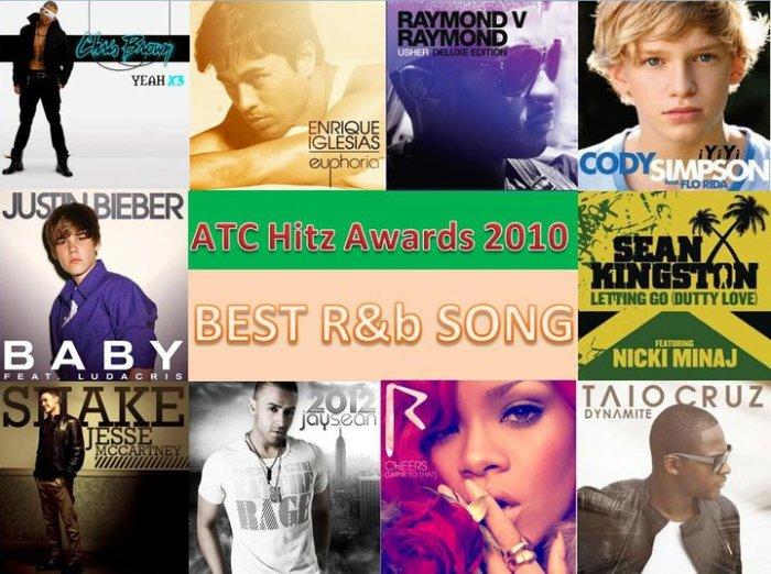 best r&b 2010