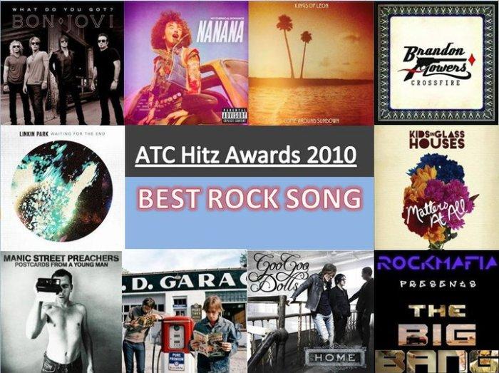 best rock 2010