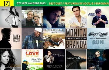 atc hitz awards 2012 - best duet, featuring in vocal and performance