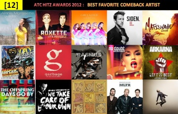 atc hitz awards 2012 - best favorite comeback artist
