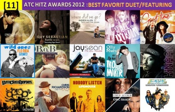 atc hitz awards 2012 - best favorite duet, featuring