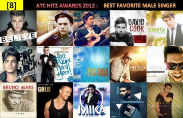 atc hitz awards 2012 - best favorite male singer