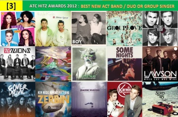 atc hitz awards 2012 - best new act ban,duo or group singer