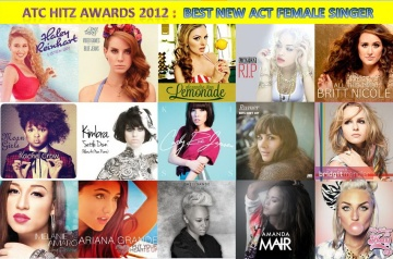atc hitz awards 2012 - best new act female singer
