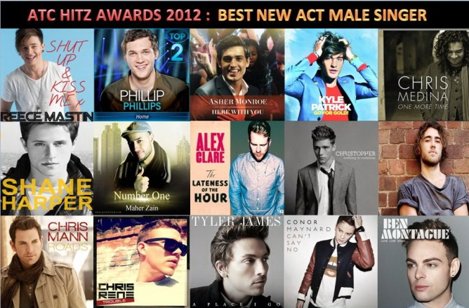 atc hitz awards 2012 - best new act male singer