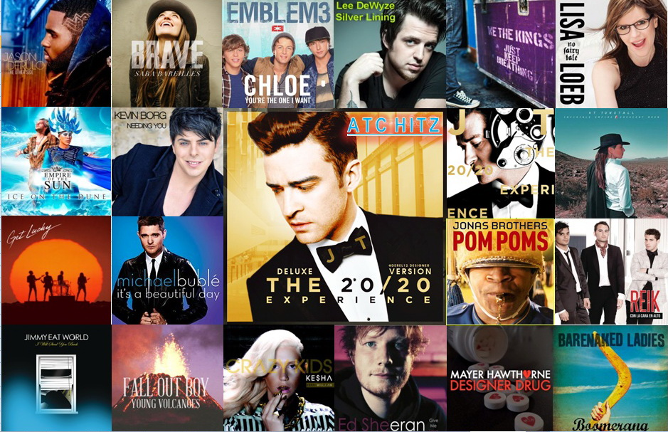 ATC Hitz Top 50, 17th Edition 2013 (22 April – 28 April 2013)