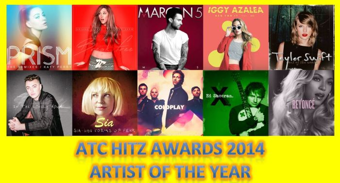 ARTIST OF THE YEAR