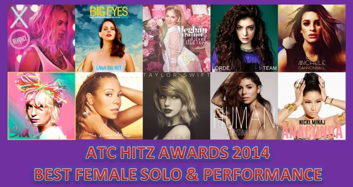 BEST FEMALE SOLO 2014