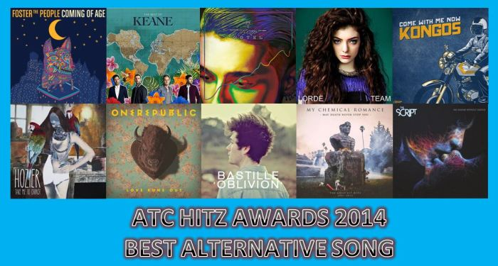 BEST SONG ALTERNATIVE 2014