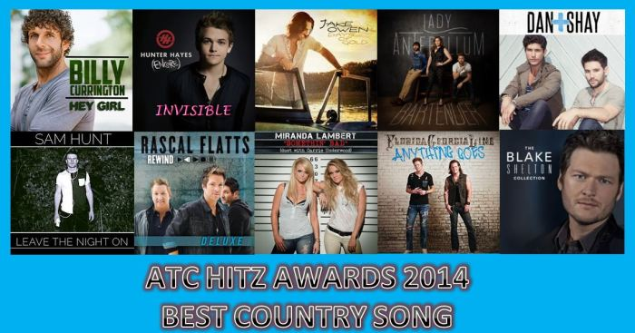 BEST SONG COUNTRY 2014