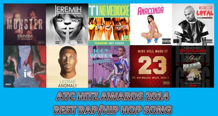 BEST SONG RAP 2014
