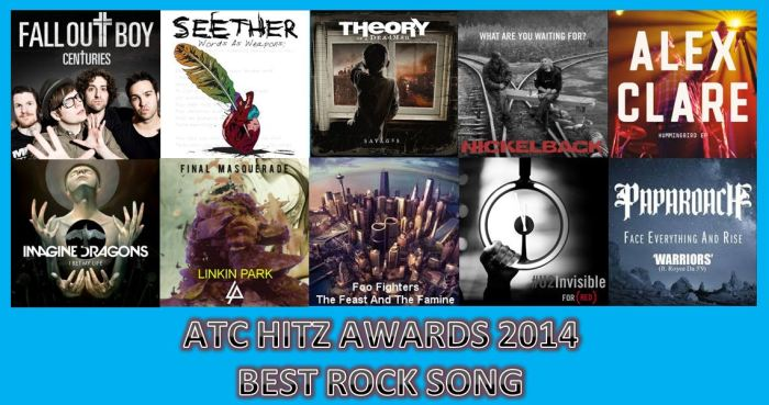 BEST SONG ROCK 2014
